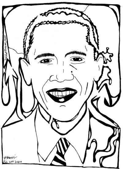 Barack Obama par yfrimer